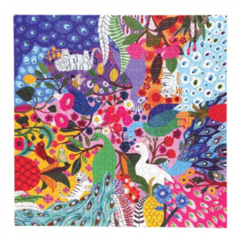 eeBoo - Peacock Garden - 1000 stukjes