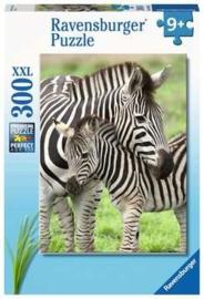 Ravensburger  - Zebra Liefde -  300XXL stukjes