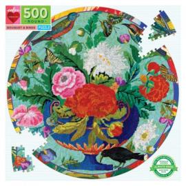 eeBoo - Bouquet and Birds - 500 stukjes