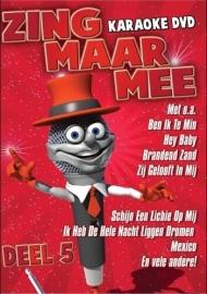 Zing Maar Mee Karaoke dvd  deel 5