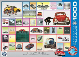 Eurographics 0800 - The VW Beetle - 1000 stukjes
