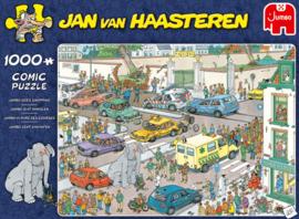 Jan van Haasteren - Jumbo gaat Winkelen - 1000 stukjes
