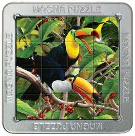 TFF 3D Magna Puzzle Small - Toucans - 16 stukjes