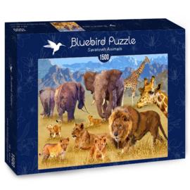 Bluebird - Savannah  Animals - 1500 stukjes