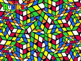 TFF 3D Image Puzzel - Rubiks Geeked - 500 stukjes
