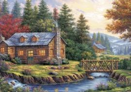 Art Puzzle - Autumn on the Hill - 260XL stukjes