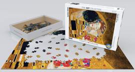 Eurographics Gustav Klimt - The Kiss (Detail) - 1000 stukjes