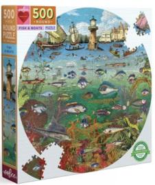 eeBoo - Fish and Boat - 500 stukjes