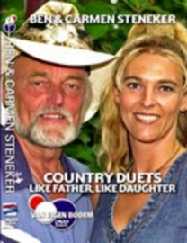 Ben & Carmen Steneker  - Like Father, Like Doughter  dvd
