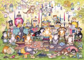 Gibsons 6259 - Mad Catter's Tea Party - 1000 stukjes