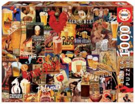Educa - Vintage Beer - 1000 stukjes