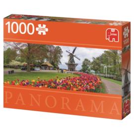 Jumbo - De Keukenhof - 1000 stukjes  Panorama  OP=OP