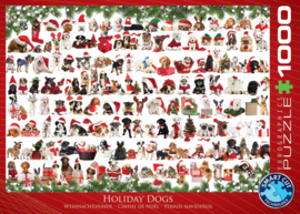 Eurographics 0939 - Holiday Dogs - 1000 stukjes