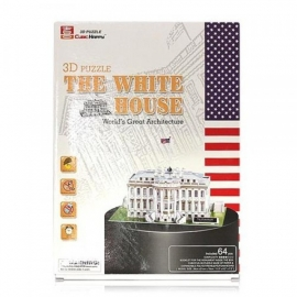 Cubic Fun 3D  - The White House - 65 stukjes