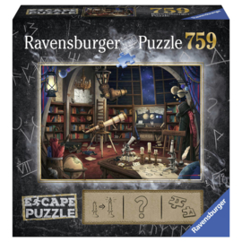 Ravensburger Puzzel Escape 1 - Ruimte Observatorium - 759 stukjes