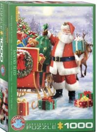 Eurographics 5639 - Santa with Sled - 1000 stukjes