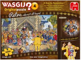 Wasgij Original 4 Retro - Een Dag Om Nooit Te Vergeten - 1000 stukjes