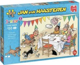 Jan van Haasteren - Verjaardagspartijtje - 150 stukjes  JUNIOR