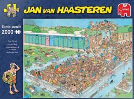 Jan van Haasteren - Bomvol Bad - 2000 stukjes