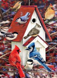 Cobble Hill - Winter Birds - 1000 stukjes