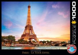 Eurographics 0765 - Paris La Tour Eiffel - 1000 stukjes