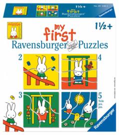 Ravensburger - Nijntje - 2/3/4/5 stukjes