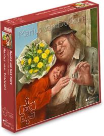 Art Revisited Marius van Dokkum - Recht Uit Het Hart - 1000 stukjes