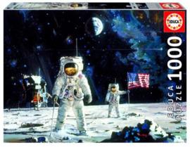 Educa - Eerste Mens op de Maan - 1000 stukjes
