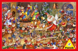 Piatnik - Kerstdrukte - 1000 stukjes
