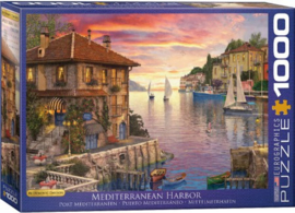 Eurographics - Mediterranean Harbor - 1000 stukjes