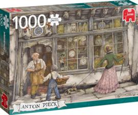 Anton Pieck - De Klokkenwinkel - 1000 stukjes