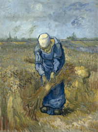 Grafika Vincent van Gogh - Woman Binding Sheaves - 1000 stukjes