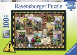 Ravensburger - Dino Verzameling - 100XXL stukjes