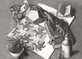 Puzzelman M.C.Escher - Reptielen - 1000 stukjes