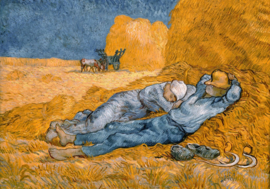 Grafika Vincent van Gogh - Hooiberg (1890) - 1000 stukjes