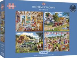 Gibsons 5055 - The Farmer's Round - 4x500 stukjes
