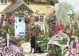 Otter House - Cottage Garden - 1000 stukjes