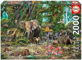 Educa - Afrikaanse Jungle - 2000 stukjes