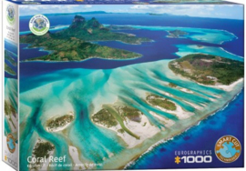 Eurographics 5538 - Save the Planet! Coral Reef - 1000 stukjes