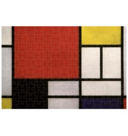 Londji Piet Mondriaan - Composition - 150 Micro stukjes