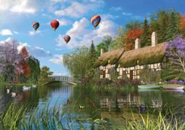 KS - Old River Cottage - 1000 stukjes