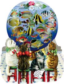 SunsOut 96082 - Kitties in the Kitchen - 1000 stukjes  Vormpuzzel