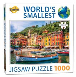 TFF World's Smallest - Portofino - 1000 stukjes  Minipuzzel