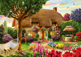 Bluebird - Thatched Cottage - 1000 stukjes