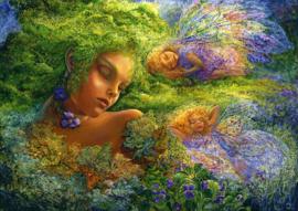 Grafika Josephine Wall - Moss Maiden - 2000 stukjes