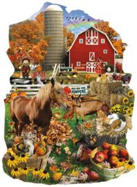 SunsOut 97160 - On the Farm - 1000 stukjes  Vormpuzzel