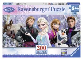Ravensburger Disney Frozen - Arendelle in het Eeuwige IJs  200 stukjes