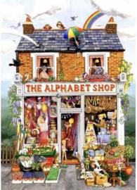 SunsOut 52430 - The Alphabeth Shop - 500XLstukjes