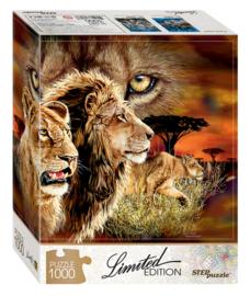 Step - Zoek de 10 Leeuwen - 1000 stukjes