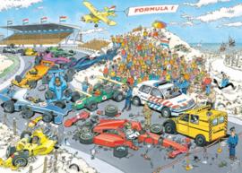 Jan van Haasteren - Formule 1, De Start - 1000 stukjes